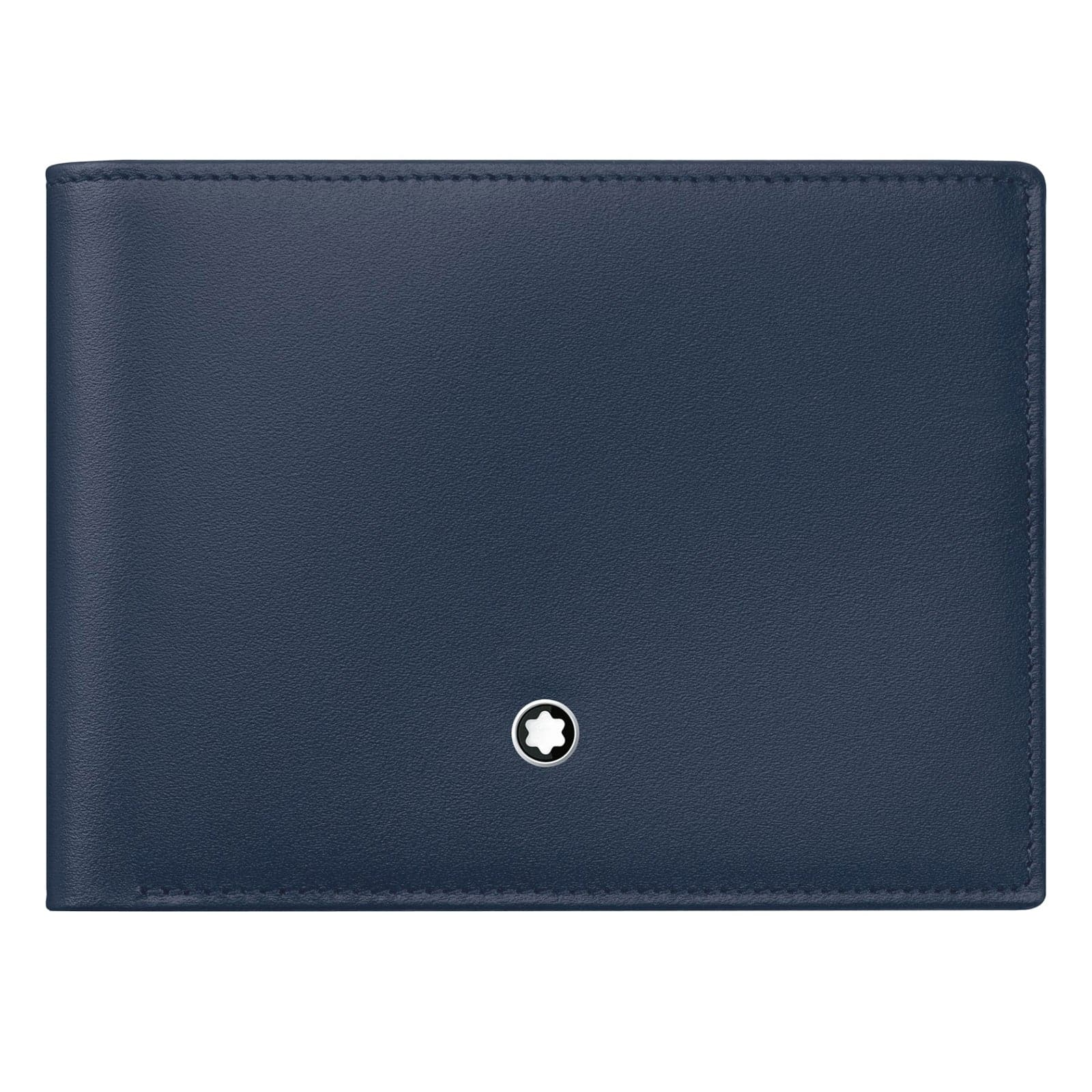 Mont Blanc Meisterstuck Blue Leather Wallet