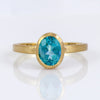 Exclusively by Nina 18K Yellow Gold Apatite Ring