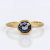 Exclusively by Nina 18K Yellow Gold Blue Spinel Ring