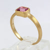 Nina 18K Yellow Gold Emerald-Cut Pink Tourmaline Ring