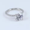 Mark Patterson Platinum And Diamond Promise Ring
