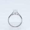 Platinum 4-Prong Diamond Ring