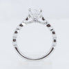 Fana 14K White Gold Milgrain Diamond Mounting (Setting Only)