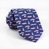 Vineyard Vines Men's Regular Length Navy Blue Pittsburgh-Themed Tie