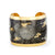 Evocateur Bronze With 22K Yellow Gold Overlay Sea Life Noir Cuff Bracelet
