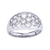 Mark Patterson 18K White Gold Diamond Tango Ring