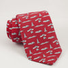 Men's Extra Long Red PITTSBURGH-THEME TIE BY VINEYARD VINES
