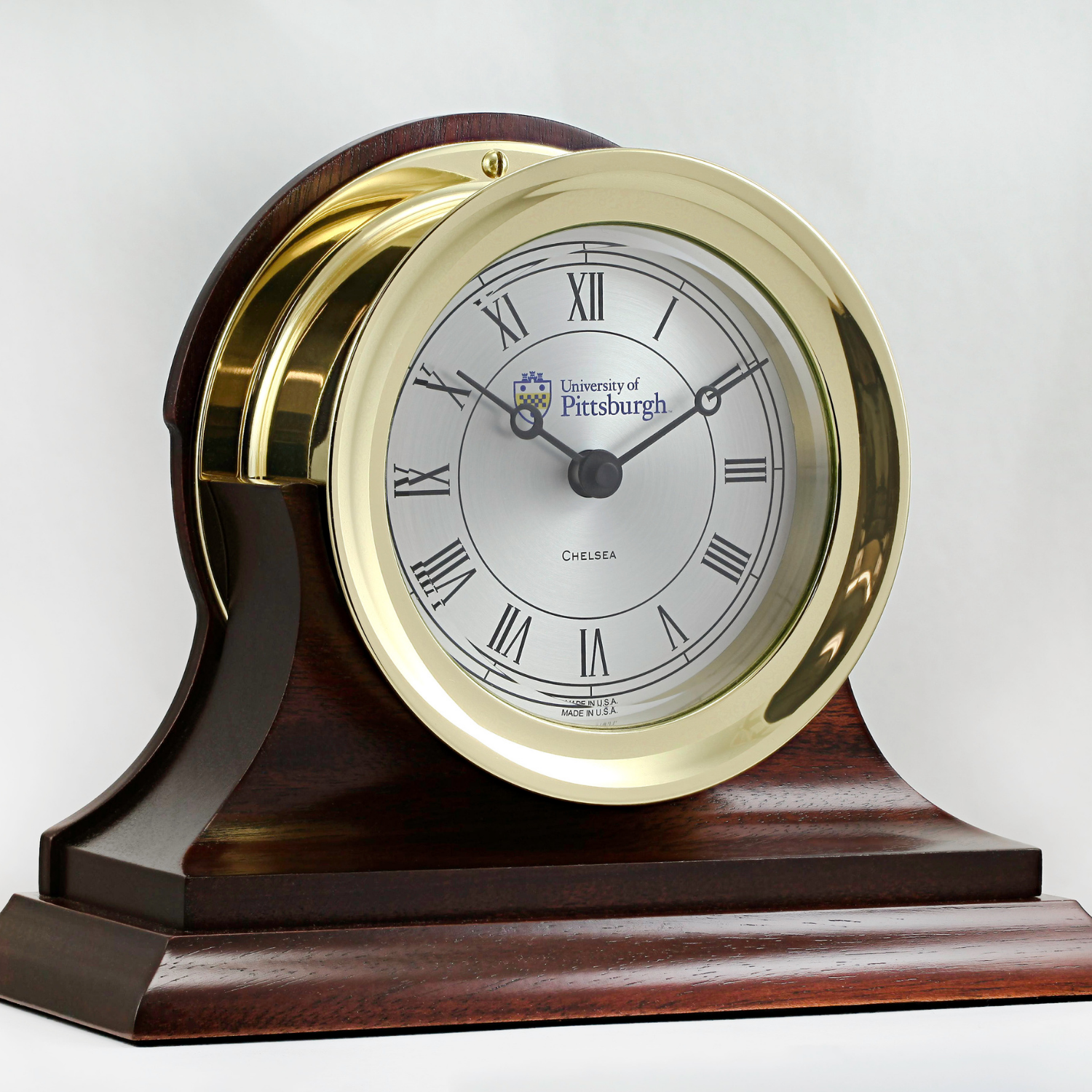 University of Pittsburgh Brass Presidential Clock