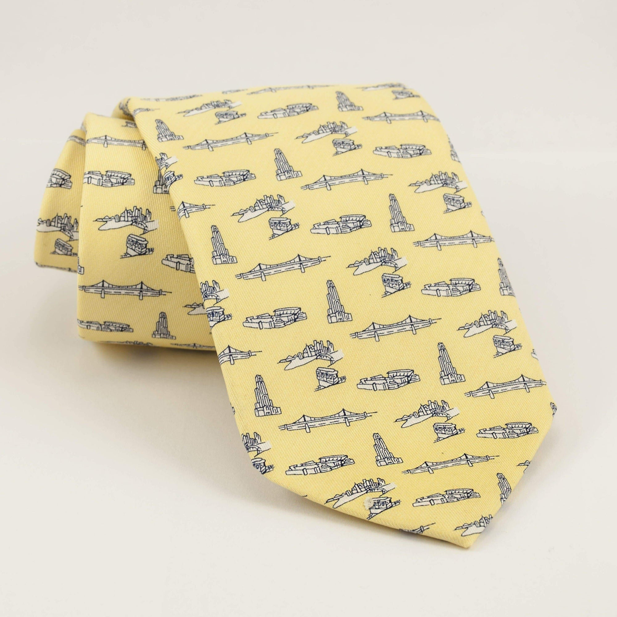 Yellow PITTSBURGH-THEME TIE BY VINEYARD VINES