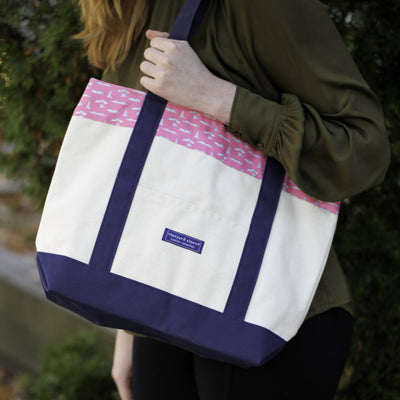 Vineyard Vines Henne Exclusive Tote Bag in Light Pink