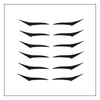 Adhesive Eyeliner | Black Liner Collection | 24 pairs