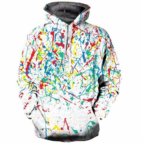 Colorful Graffiti Hoodie