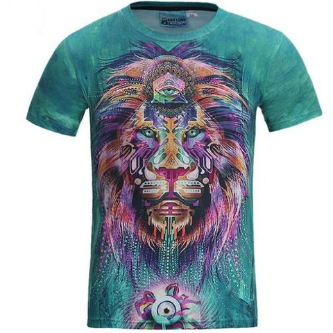 Multi Color Lion Shirt