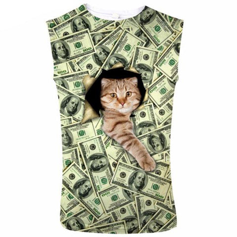 Rich Cat Tank Top