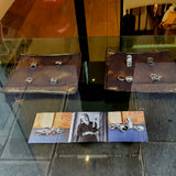 NOMAD jewellery collection in window of Nomet Showroom, Paris Rue du Point aux Choux