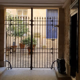 Parisian gateway leading into courtyard at Rue des Archive