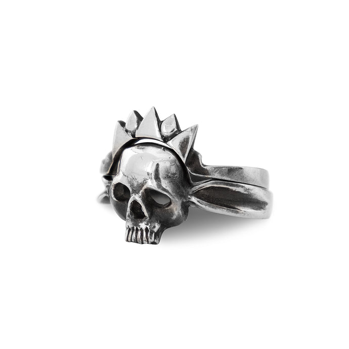 Skull and Crown rings