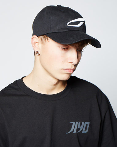 JIYO CAP, BLACK W/ WHITE - JIYO WEAR