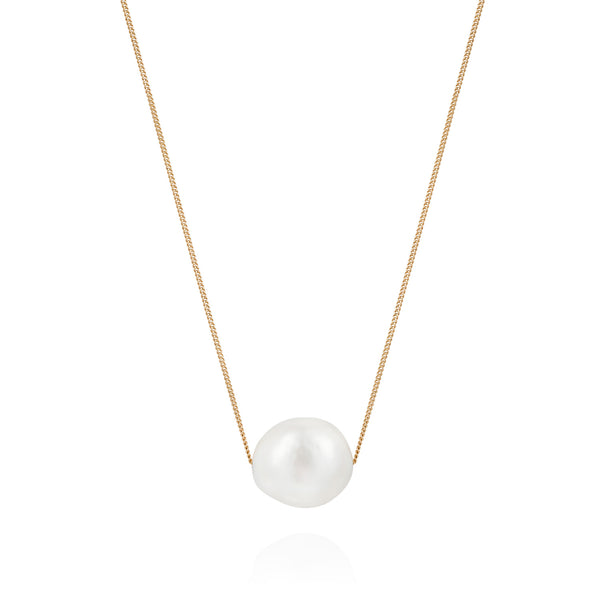 Mermaid Collection - Floating Pearl Necklace