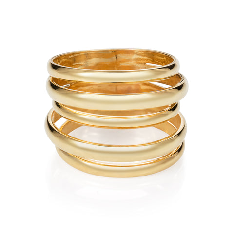 5 Way Ring  - Gold