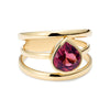3 Way - Spinel Ring