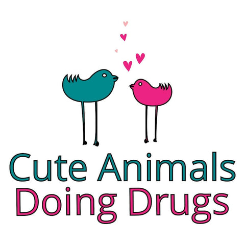 Cute Animals Doing Drugs