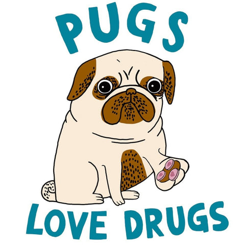 Pugs Love Drugs