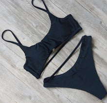 Brooke Bikini Set Midnight Black