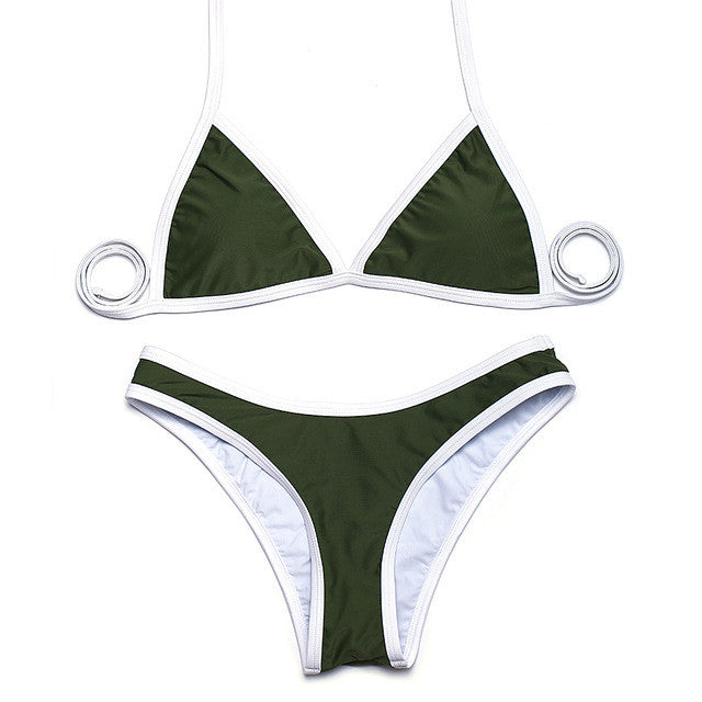 Alex Bikini Set Olive Green
