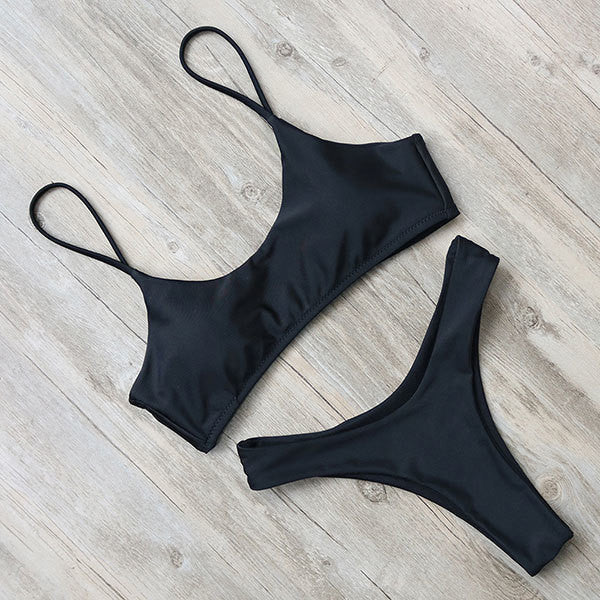 Julia Bikini Set Summer Basic Black
