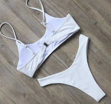 Julia Bikini Set Summer Basic White