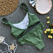 Sage Braided Bikini Set