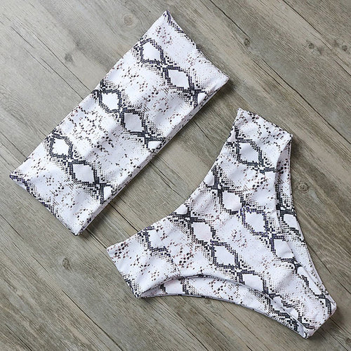 Morgan Bikini Set Snake Skin