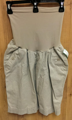 Oh Baby! Maternity khaki bermuda shorts - Medium