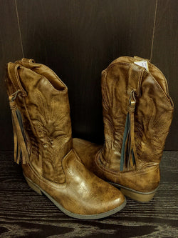 Steve Madden synthetic leather boots - 5