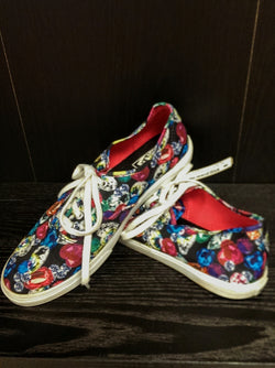 Vans canvas gemstone print shoes - W8½