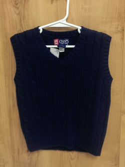 Ralph Lauren Chaps navy sweater vest - 4