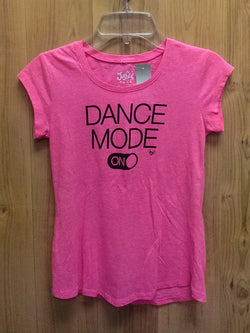 Justice pink 'Dance Mode' tee - 8
