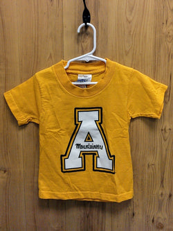 Cotton Exchange yellow Appalachian ASU tee - 2-4