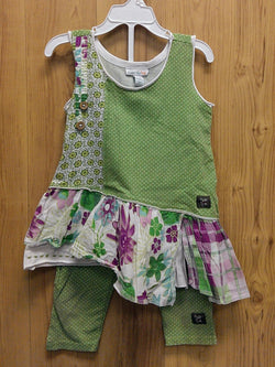 Naartjie 2pc green outfit - AS IS - 4