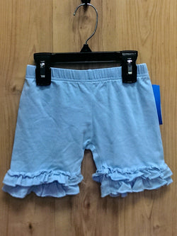 Ruffled icing shorts - pale blue - 4T