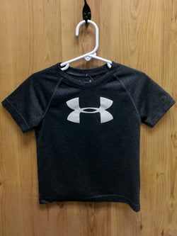 Under Armour Heat Gear gray tee - 2T