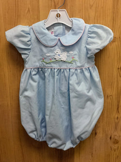 Posh Pickle blue collared sheep 1pc - 18mos