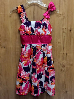 My Michelle pink/purple floral dress - 7