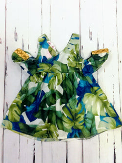 NWT tropical leaf dress/tunic - various sizes
