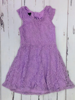 Holiday Editions lavender textured dress - 6