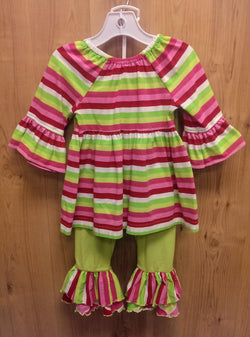 Kelly's Kids 2pc striped outfit - 3