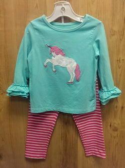Kelly's Kids 2pc unicorn outfit - 3/4