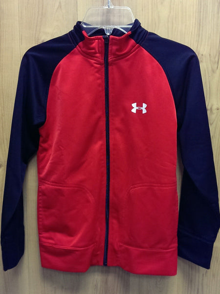 Under Armour red/black track jacket - 7
