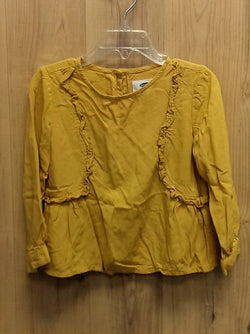 Old Navy mustard yellow rayon top - 3T